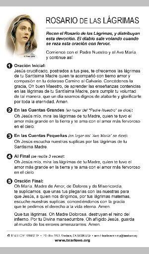 Rosario De las Lagrimas