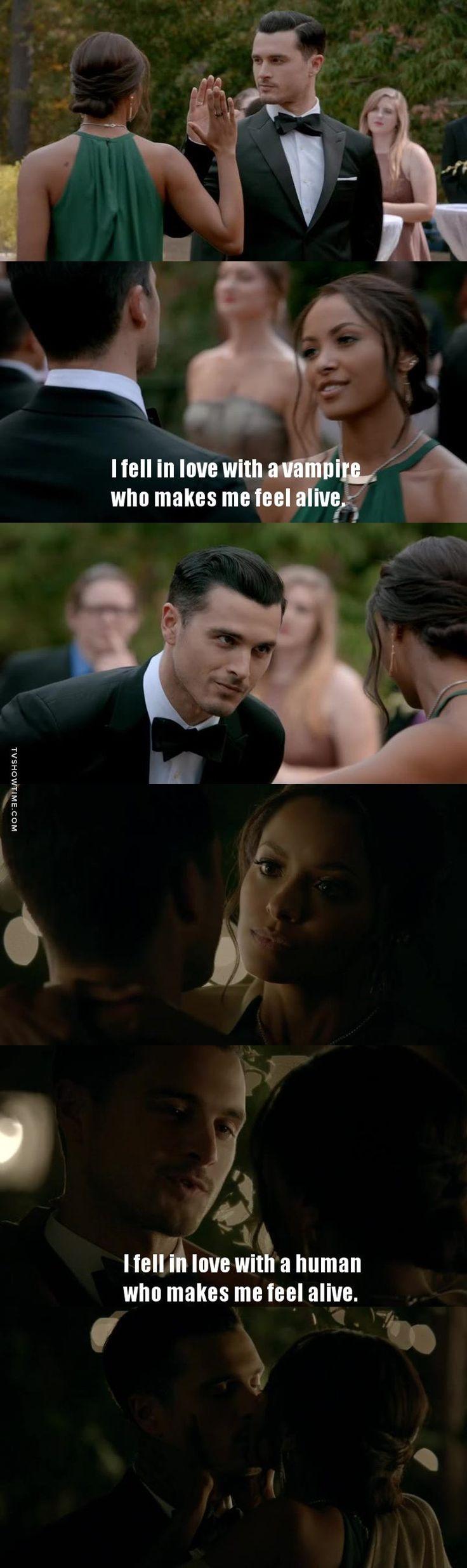 Vampire diaries/Bonnie et Enzo