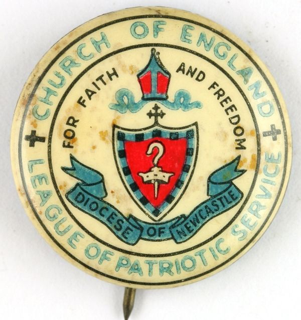 Church of England League of Patriotic Service - Diocese of Newcastle