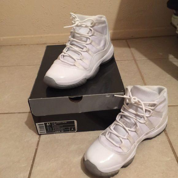 All white Jordan's All white Jordan's Shoes Sneakers