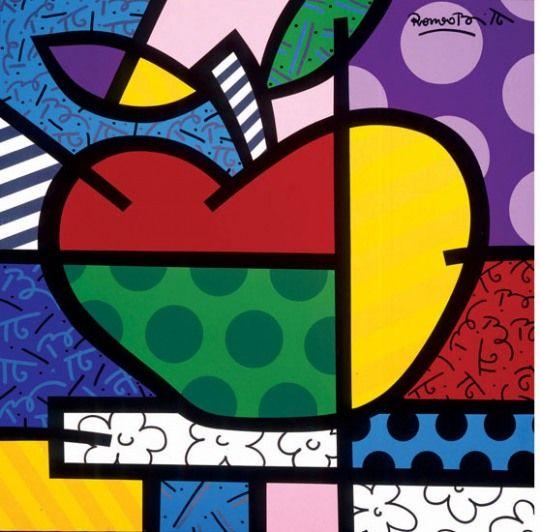 apple - Romero Britto
