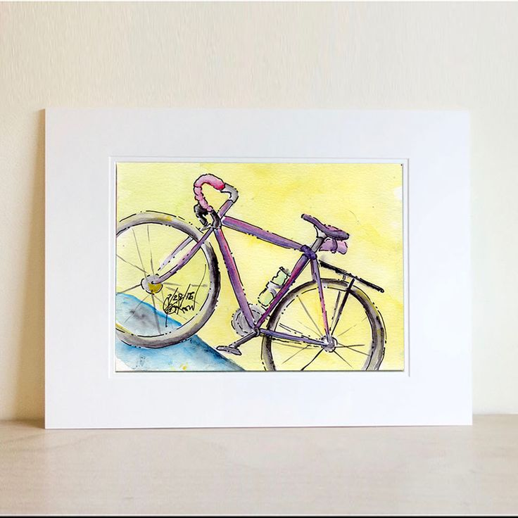 Contemporary Decorative Bike Wall Mount Adornment - Wall Art Design ...