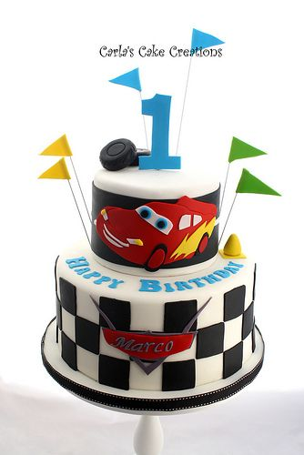 Cars Birthday Cake Cakes Birthdays And