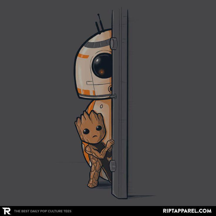 In a galaxy far far away T-Shirt - BB-8/Groot T-Shirt is $11 today at Ript!