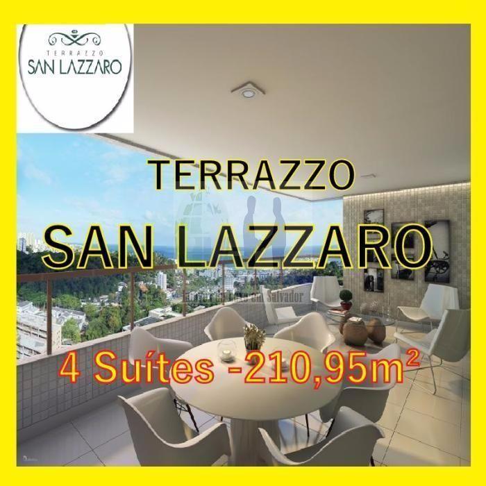 Terrazzo San Lazzaro, São Lazaro, Federação, Salvador