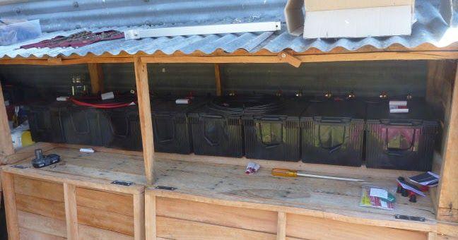 Early Bird Farm: Solar set up part #2