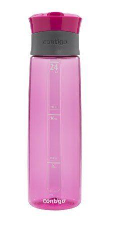 Amazon.com: Contigo AUTOSEAL Water Bottle, 24 Ounces, Pink: Kitchen & Dining