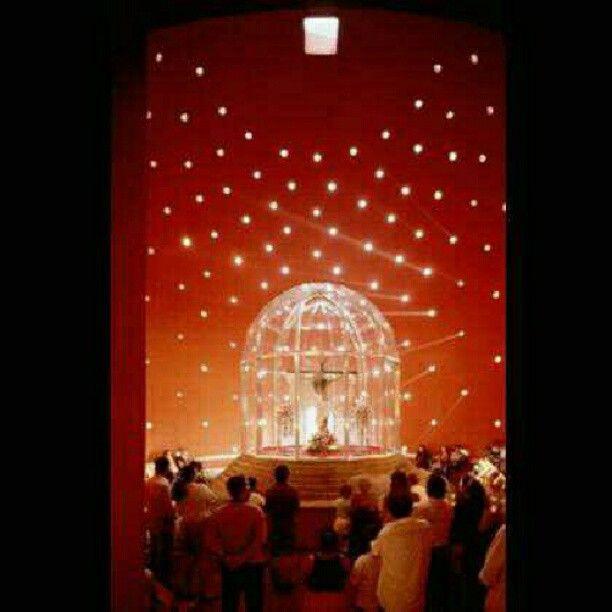 Catedral Metropolitana de Manágua, na Nicarágua. Projeto do arquiteto Ricardo Legorreta. #architecture #arts #arquitetura #arte #decor #design #decoração #interiores #luzetrancendencia #lighting #projetocompartilhar #shareproject
