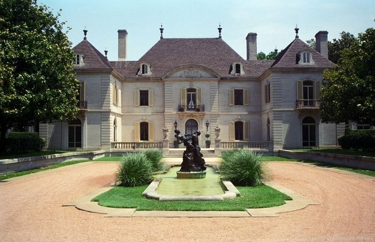 Dallas texas french chateau home houses houses houses for French chateau style
