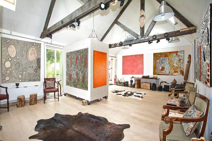 Aboriginal Signature gallery • Art Aborigène galerie à Brussel, Brussels Hoofdstedelijk Gewest