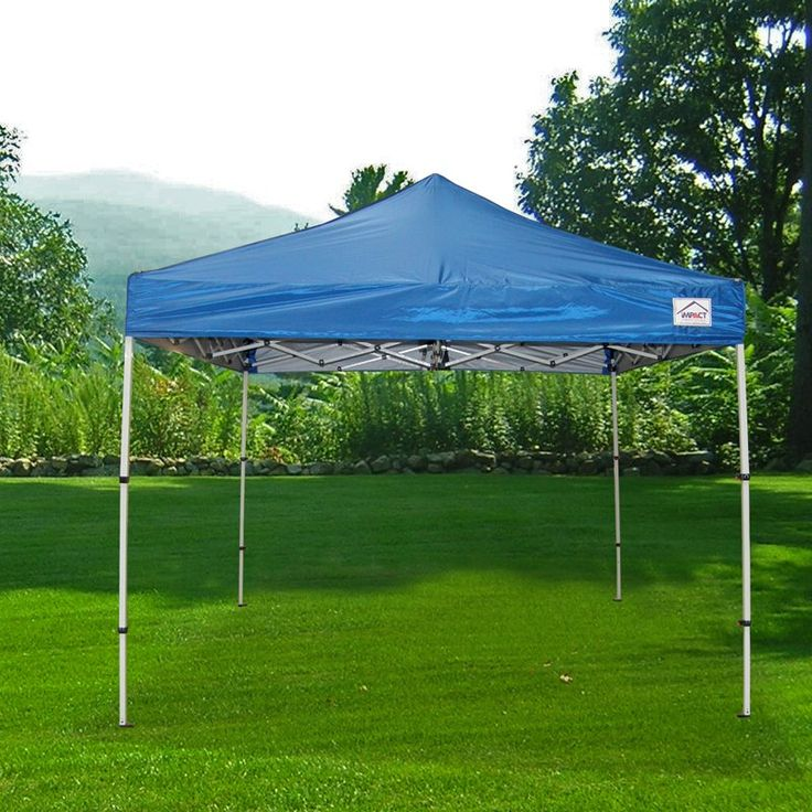 impact canopy 10 x 10 ft pop up canopy tent folds to 42 in tall instant canopy bootshdkrb - Instant Canopy