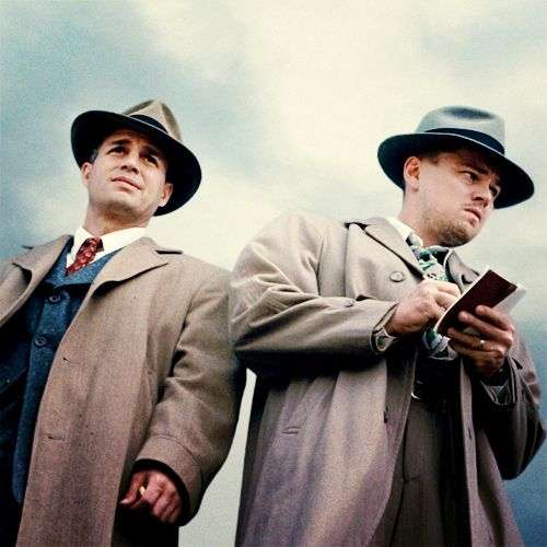 Shutter Island by Martin Scorsese - 2010 - Leonardo Di Caprio, Mark Ruffalo, Ben Kingsley and Michelle Williams.