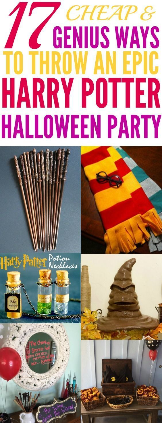 how to make a harry potter party