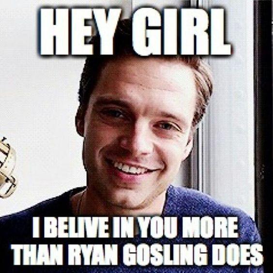 Hey Ryan Lush Gosling Girl