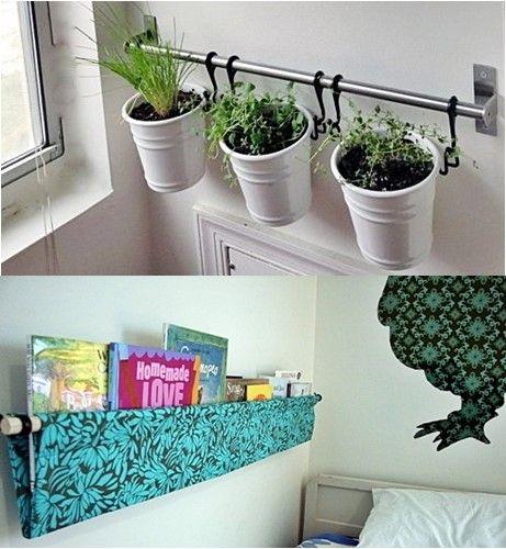 Selecionei algumas ideias simples que podem ser feitas por você na sua casa gastando bem pouco e que dão um ótimo efeito na decoração, veja só...