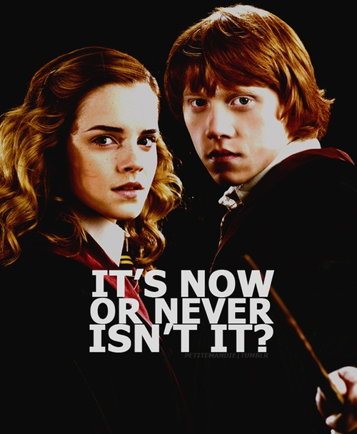 Now or Never // Romione