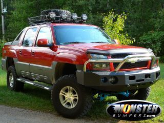 Chevy Avalanche Stealth Bumper Chevy Avalanche Chevy Truck Bumpers