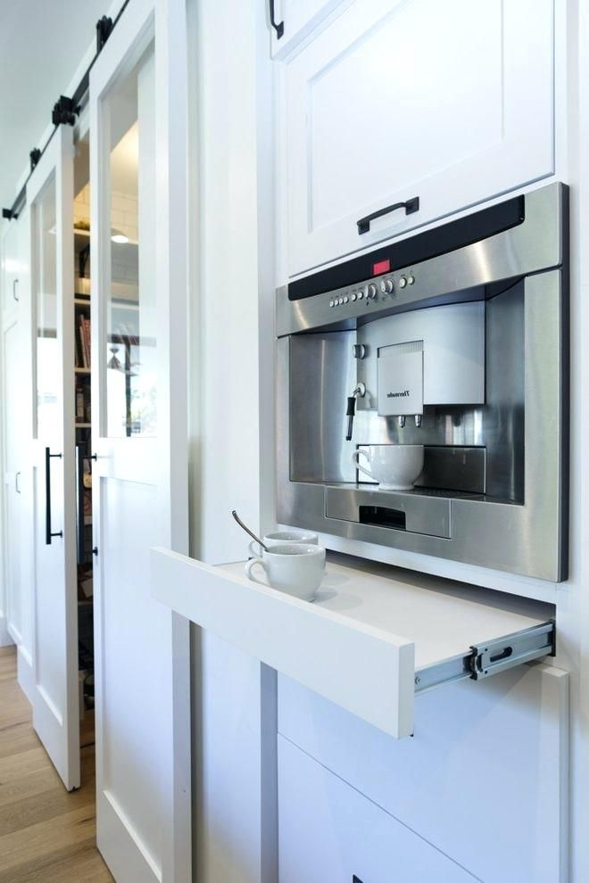 built in espresso kitchen transitional with coffee maker thermador traditional teacups