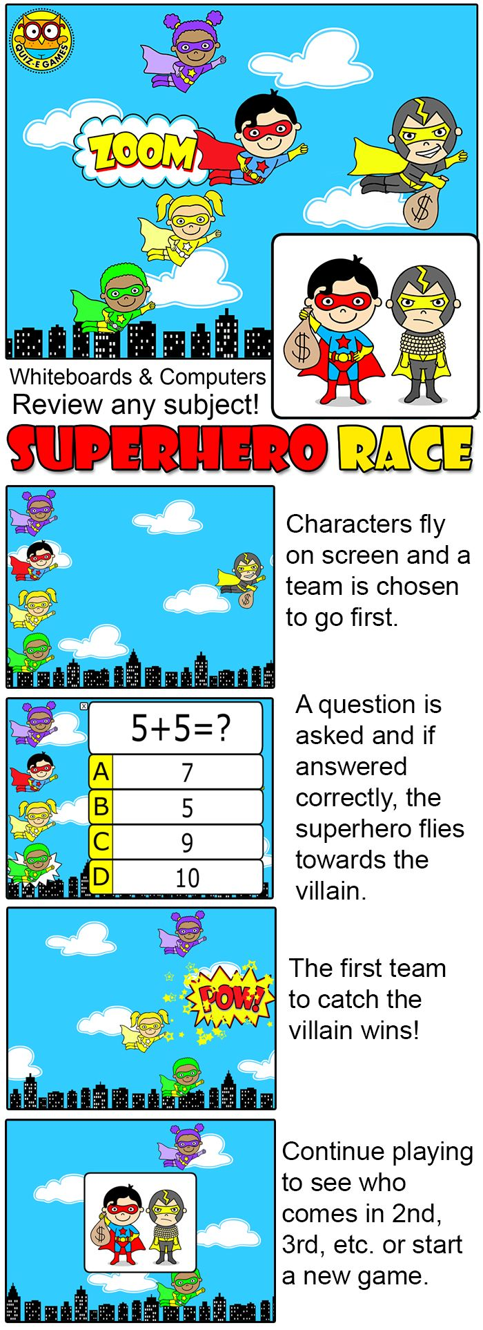 64 best Superhero Math images on Pinterest | Math facts, School and ...