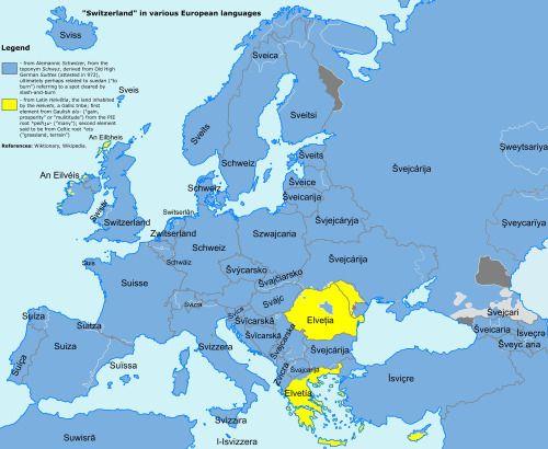 Best Language Images On Pinterest Language Languages And Europe - Languages map of switzerland