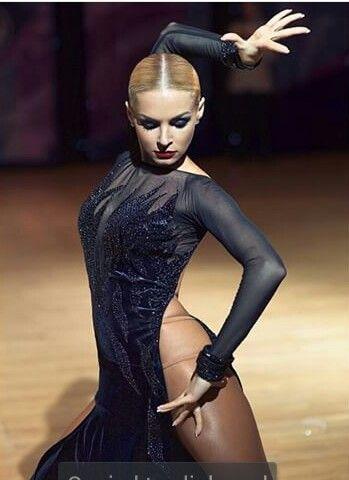 Maximova Marina latín dancer - latin bachata salsa dress costume