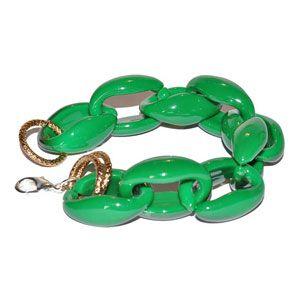 Bracciale resina verde by Valery Design Bijoux