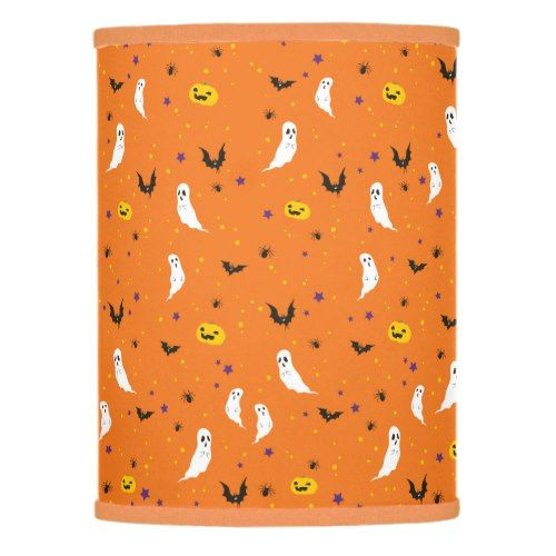 Celebrations Street - Halloween (orange) Lamp Shade