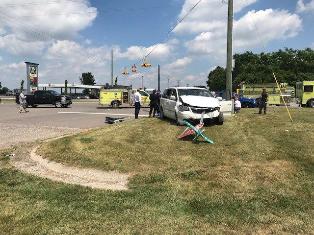 One Person Transported To Hospital After Ionia County Crash