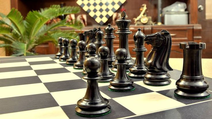 Crafted With Precision These Ebony Wood Chess Sets Are A True Pleasure To  Hold. Shop
