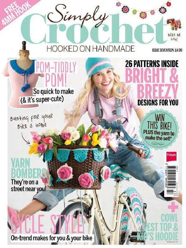 Simply Crochet Issue 17 2014 - 轻描淡写 - 轻描淡写