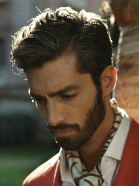 Top Men's Hairstyles 2014 - a little too much beard for me but still handsome