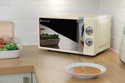 Russell Hobbs RHMM701C 17L Manual 700w Solo Microwave Cream: Amazon.co.uk: Kitchen & Home