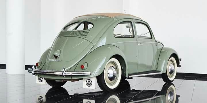 For sale - Price on Request 1951 VW Beetle Ragtop Split Window http://tominiclassics.com/collections/107/Volkswagen-Beetle-%22Split%22 #vw_vintage_morat Volkswagen