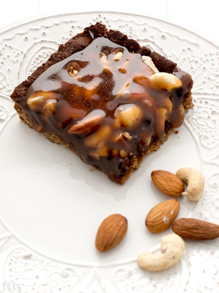 true taste hunters: Bezglutenowy mazurek orzechowo-czekoladowy