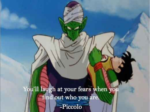 When Piccolo started training Gohan after Goku died and was a total hardass: