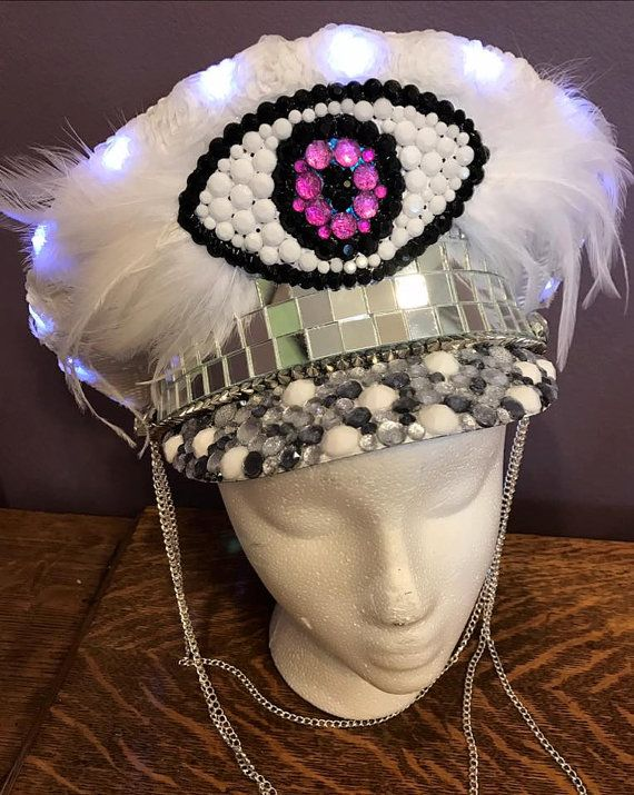 Hey, I found this really awesome Etsy listing at https://www.etsy.com/listing/477837726/snow-white-captains-hat-military-style