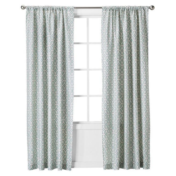 Interlocking Circles Curtain Panel
