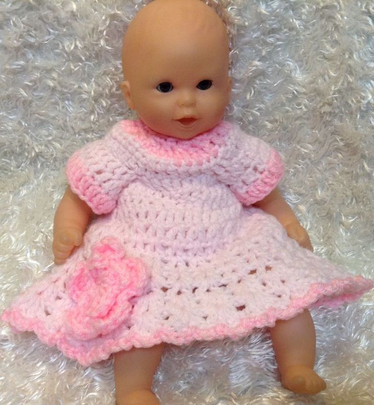12 inch Doll clothes/Handmade.Fits corolle,Jenna ...Dress