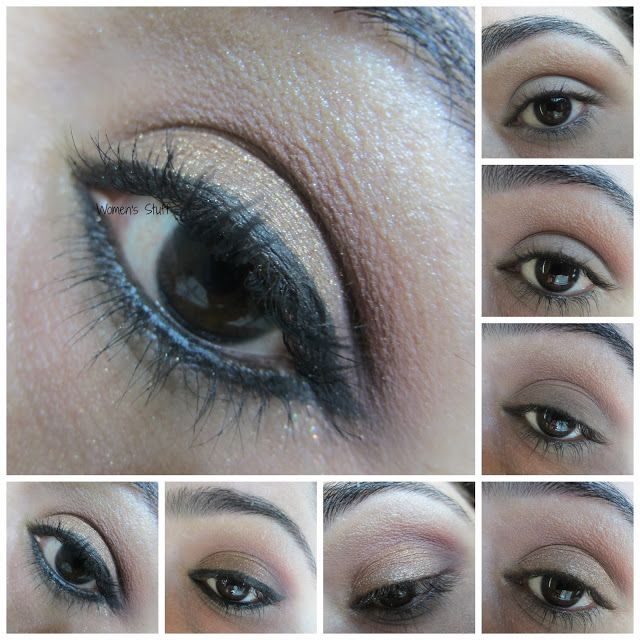 Women's Stuff: 30 Days eye makeup Challenge Day~20, step by step picture tutorial