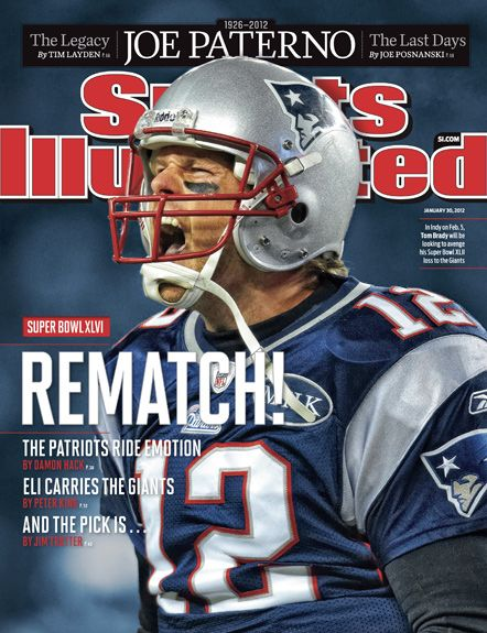 On the Cover: Tom Brady, Football, New England Patriots  Photographed by: Simon Bruty / SI