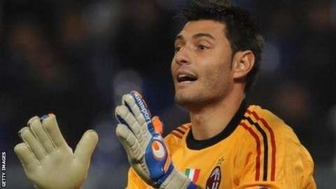 MARCO AMELIA: Chelsea sign former AC Milan goalkeeper...