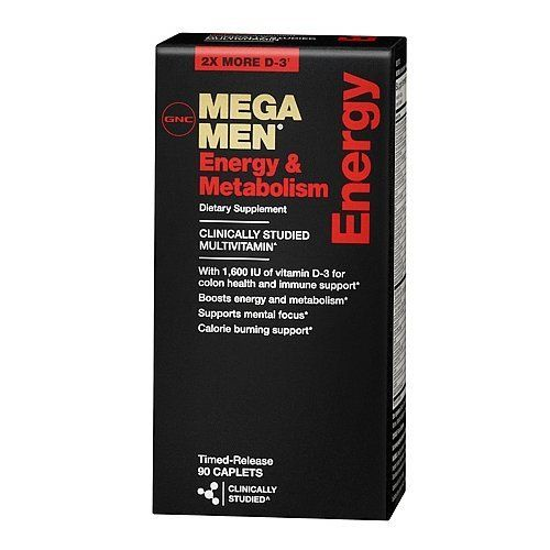 GNC MEGA MEN Energy & Metabolism 90 Caplets Multivitamin by GNC, http://www.amazon.com/dp/B003XTV3OC/ref=cm_sw_r_pi_dp_ptjksb1B0PR4D