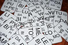 SY-LA-BO-WE OCZ-KO - nauka czytania w wyjątkowym wydaniu | Kreatywnie w domu
