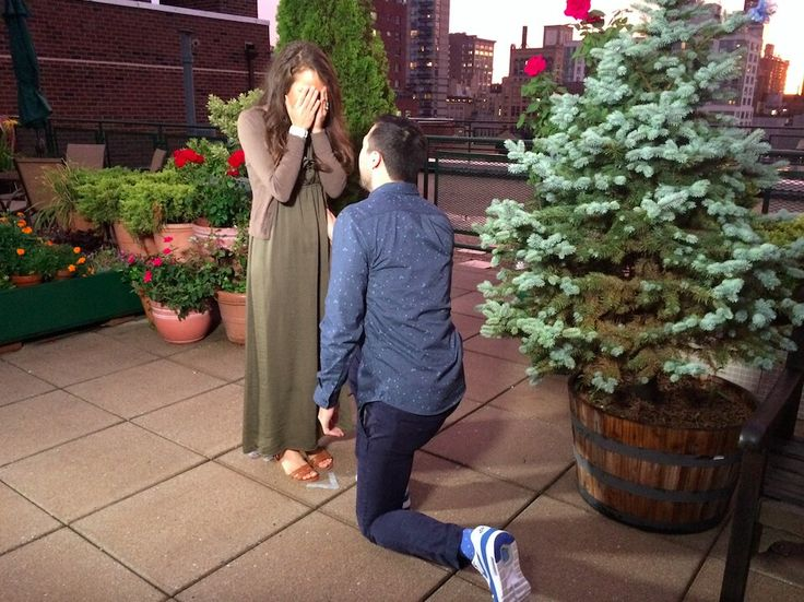 Jeremy proposal to Jinger and she said yes