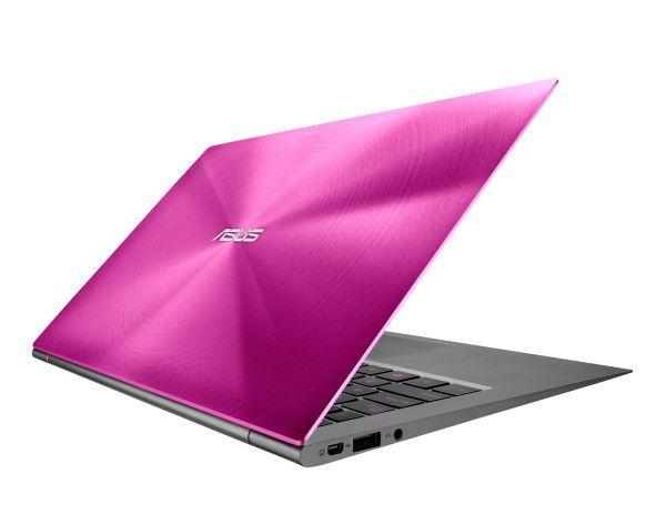 Asus Zenbook ux21 rosa??? wow!!! per tutte le fashion victims!