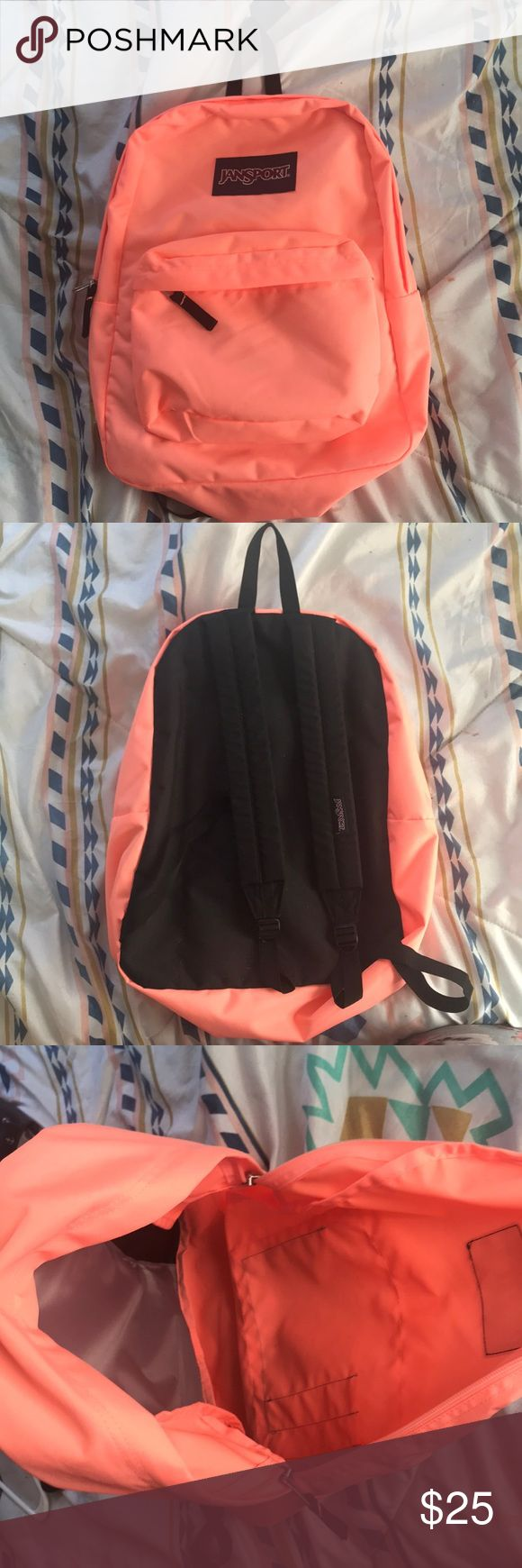 SALE $16 final price Great condition pink jansport backpack barely used Jansport Bags Backpacks