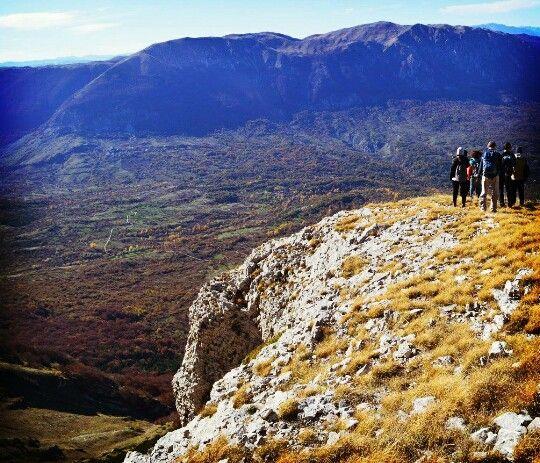 Sulle balze del monte Rapino, Majella