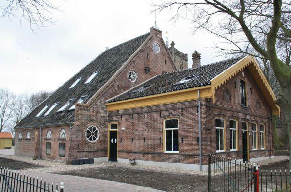 Rundveemuseum Aat Grootes, Schoolstraat te Aartswoud