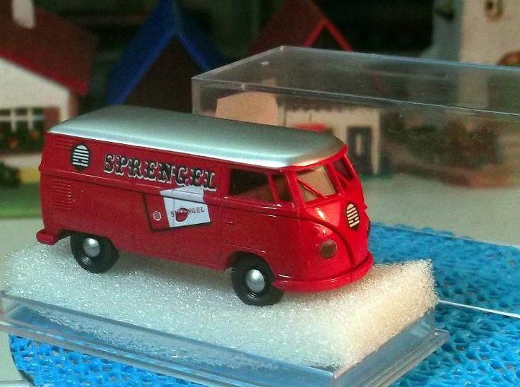 Brekina 3261 VW Kastenwagen T 1b Sprengel-Schokolade Bestzustand mit OVP