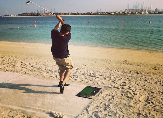 17 best images about life in dubai on pinterest dubai for Fish food golf balls